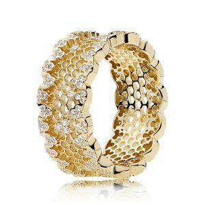 Pandora Honeycomb Lace Ring